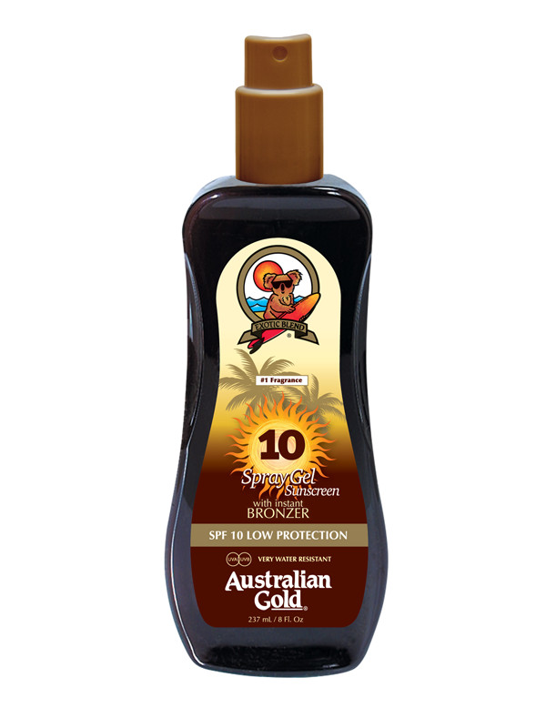 Australian Gold, SPF10 Bronze-spray 237ml