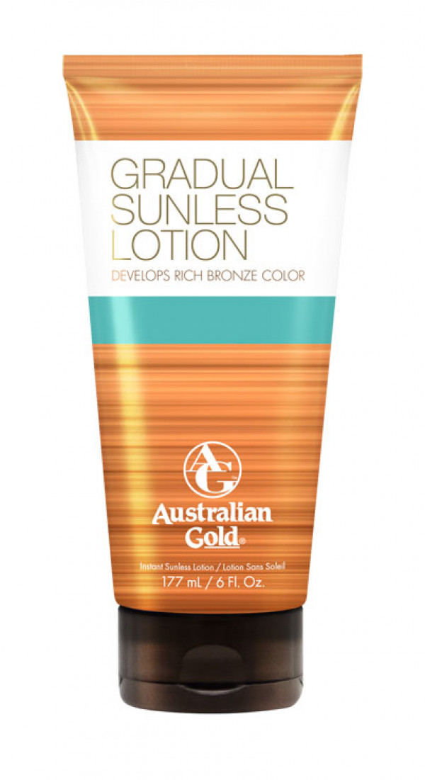 Australian Gold Gradual  Sunless Lotion 177ml