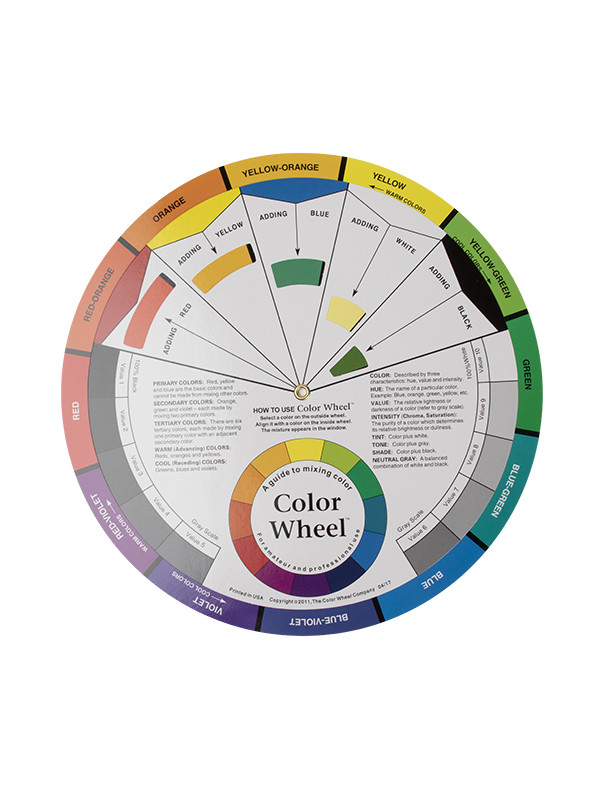 Microblading Värikartta