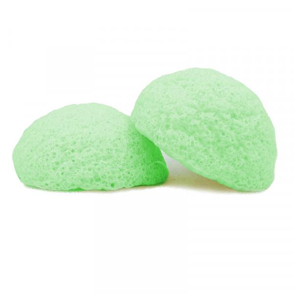 Konjac sponge Green Tea kasvoille