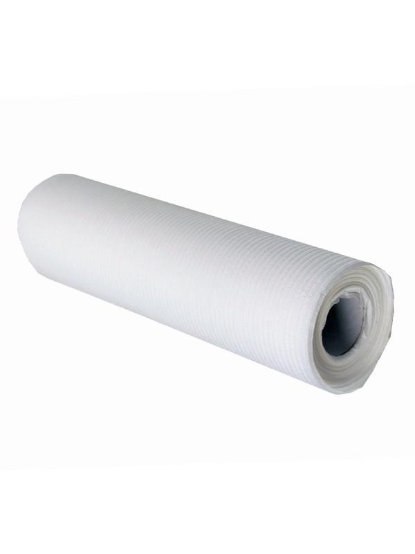 Muovitettu kuitukangasrulla lev 33 cm,  valkoinen