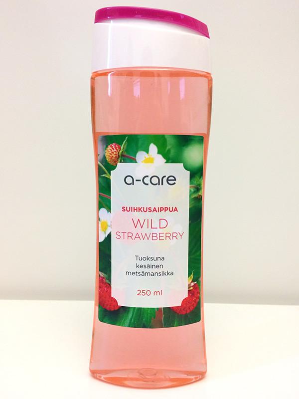 a-care Shower Gel Wild Strawberry 250ml