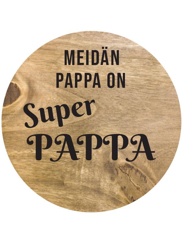 Kausitarra Meidän pappa on superpappa 10kpl