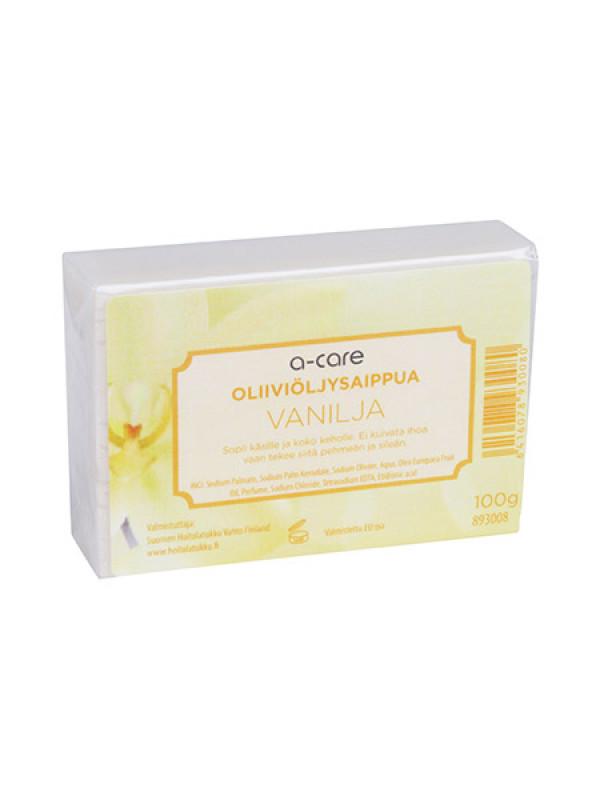 a-care Oliiviöljysaippua 100g Vanilja