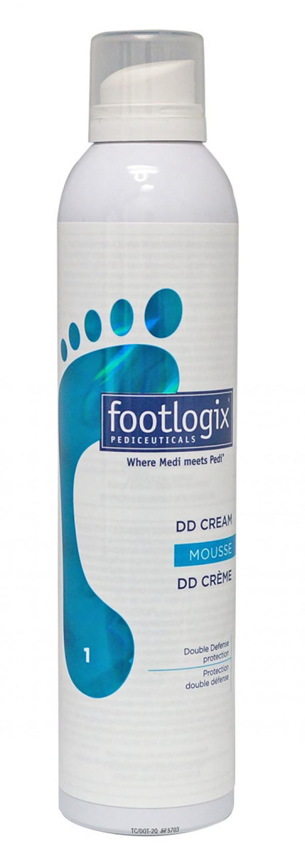 Footlogix 1 DD-vaahtovoide herkälle iholle 300 ml