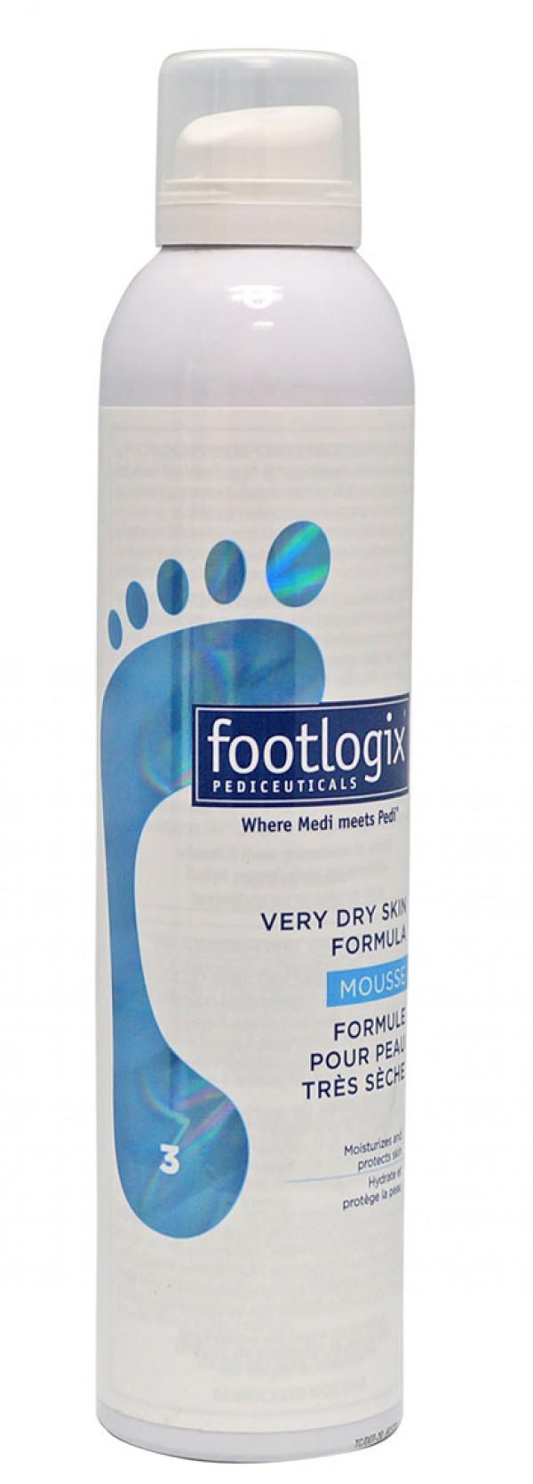Footlogix 3 Vaahtovoide hyvin kuivalle iholle 300