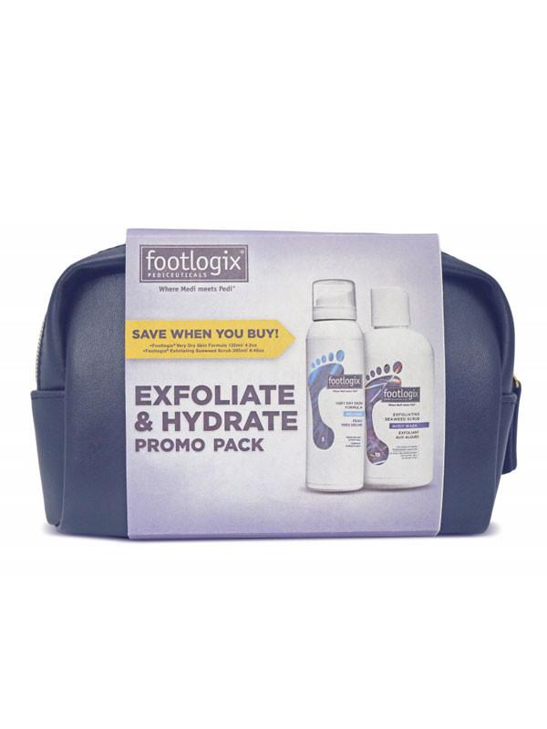 Footlogix Exfoliate and Hydrate-setti