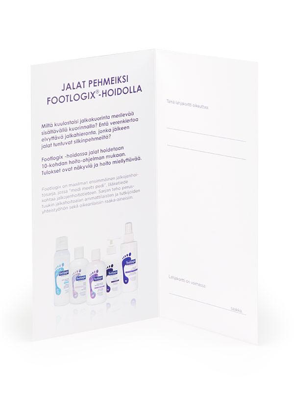 Footlogix Lahjakortti 5 kpl sis. kuoret