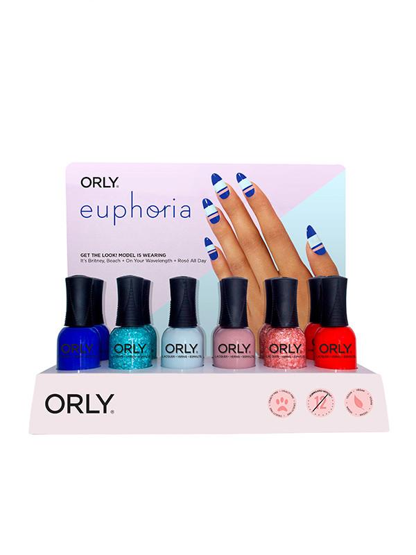 Orly Display Euphoria 18 pcs