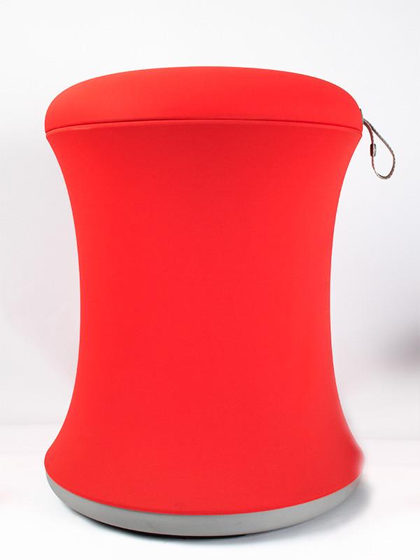 Poiju-tuoli, korkeussäädettävä, punainen