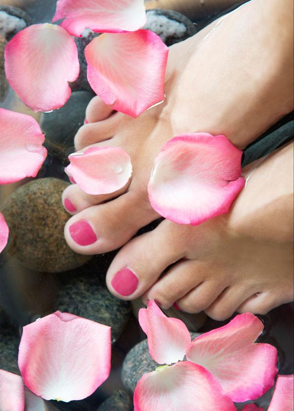 Juliste jalkahoitojuliste Kevyet jalat  50x70