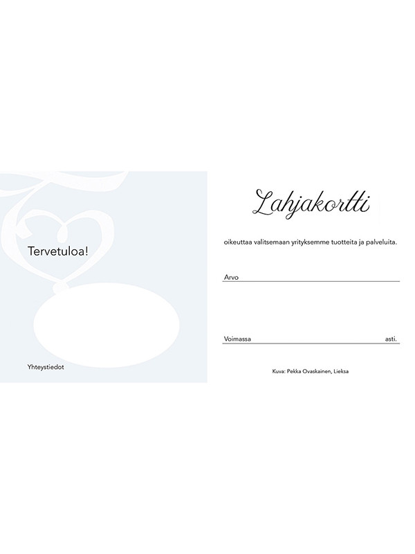 LaMente Lahjakortti Lumme 10 kpl sis kuoret